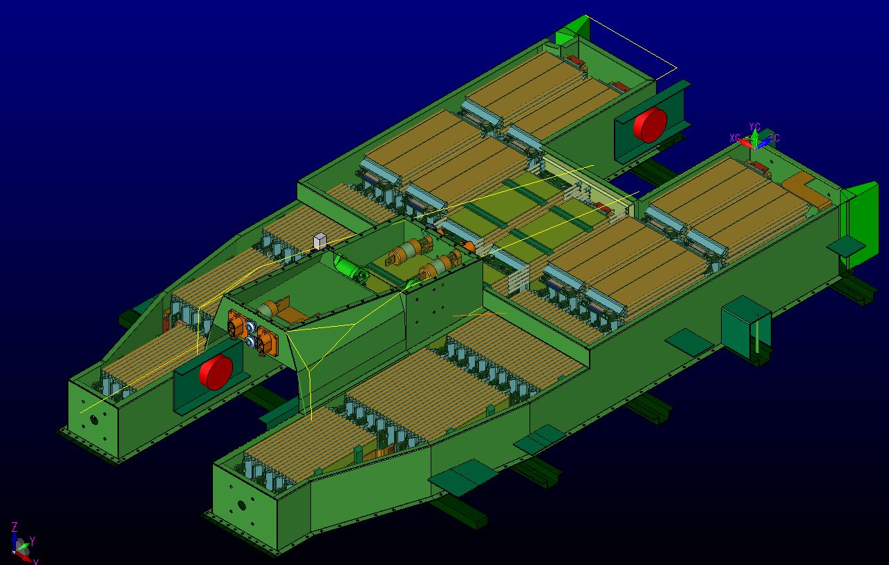 Cad Model of Battery pack